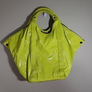 L.A.M.B. Neon Yellow Tote Bag